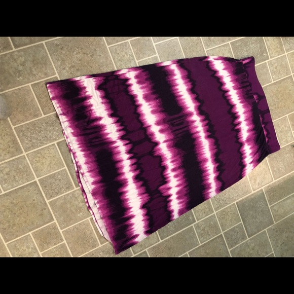 a.n.a Dresses & Skirts - Tie-Dyed Maxi skirt
